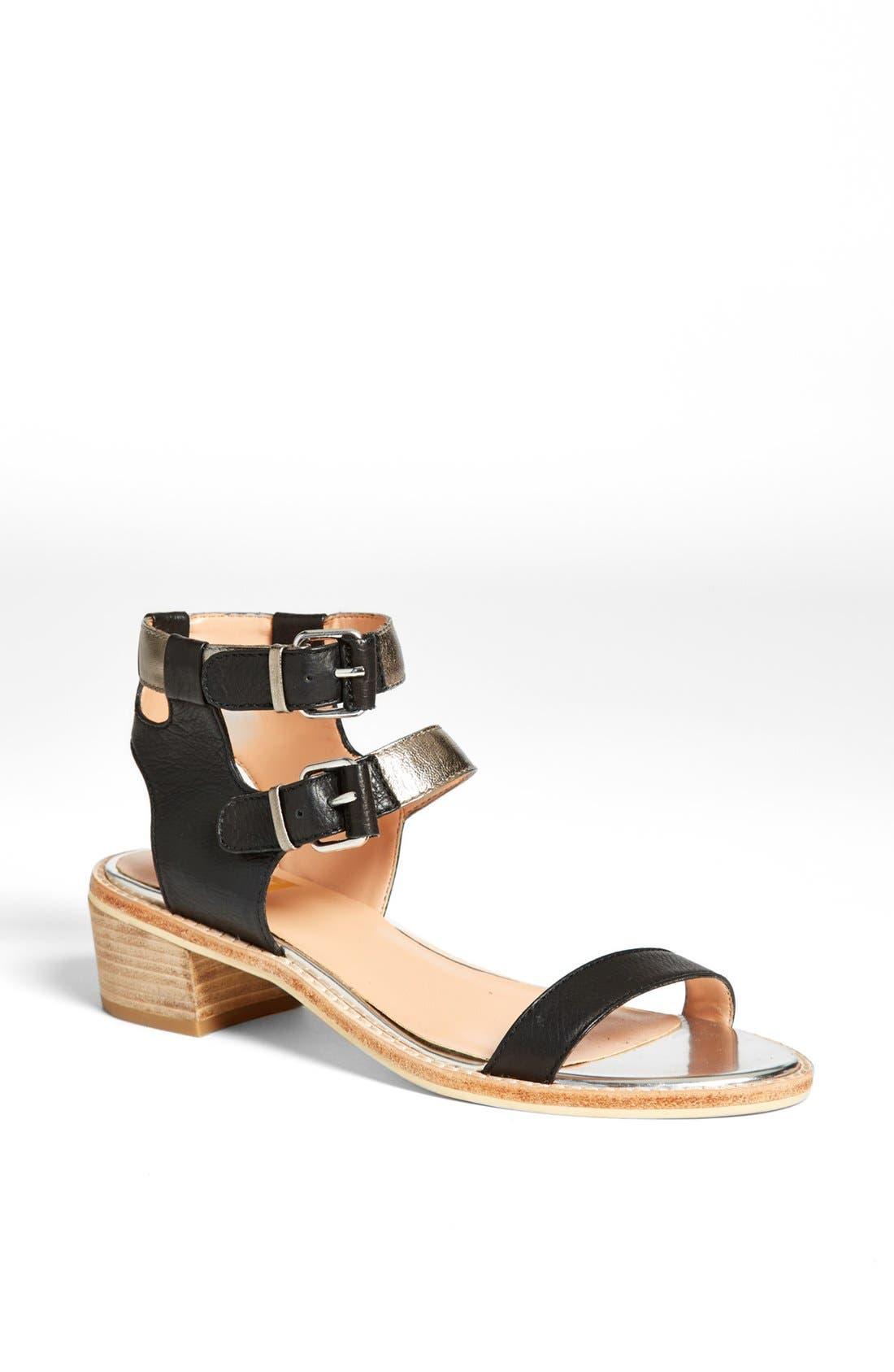 'Zinc' Sandal, Main, color, 001