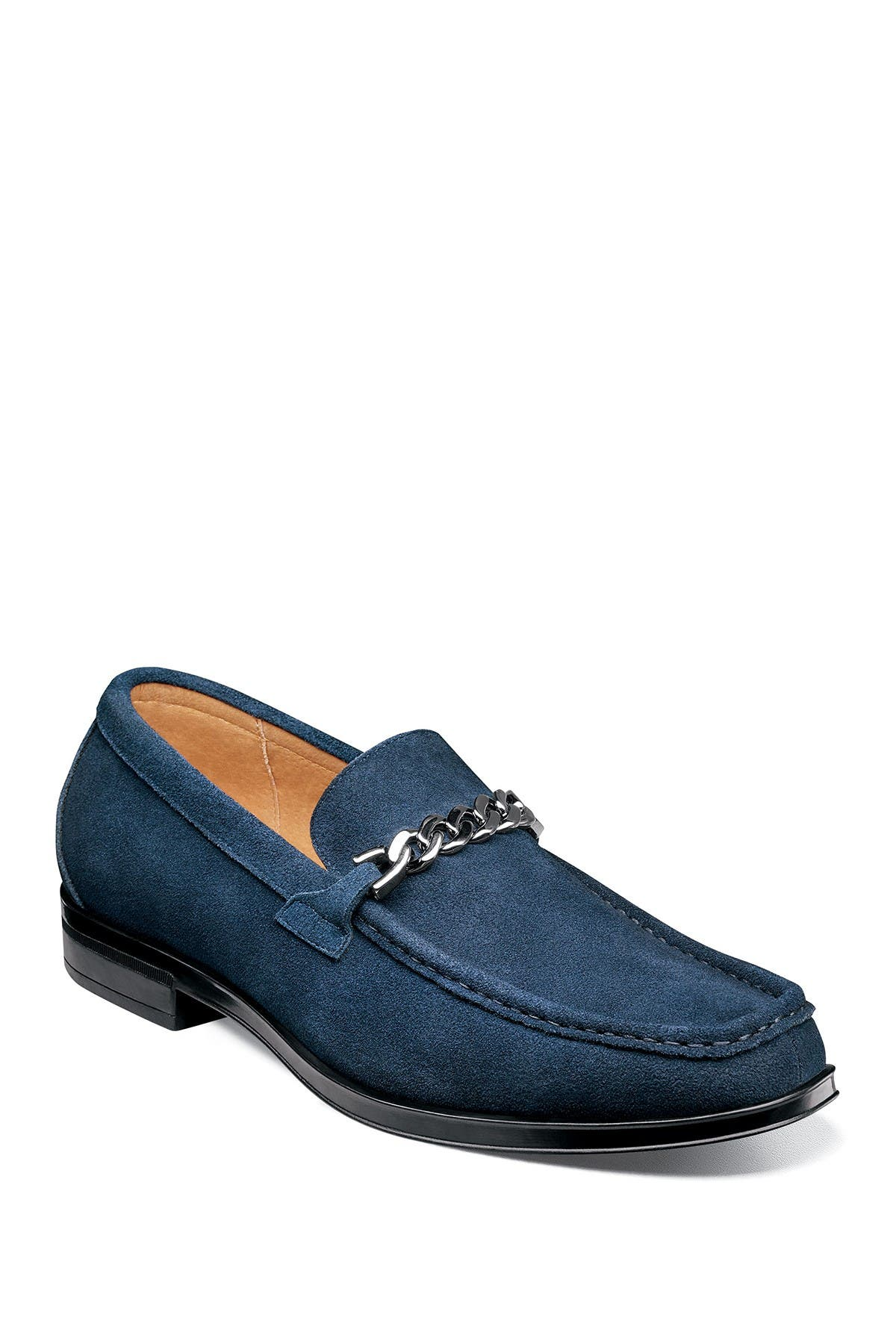 Image of Stacy Adams Norwood Moc Toe Bit Loafer - Wide Width Available