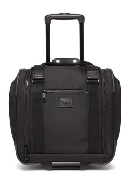 "Image of CALPAK LUGGAGE Murphie 15.5"" Under-Seat Soft Sided Carry-On Suitcase"