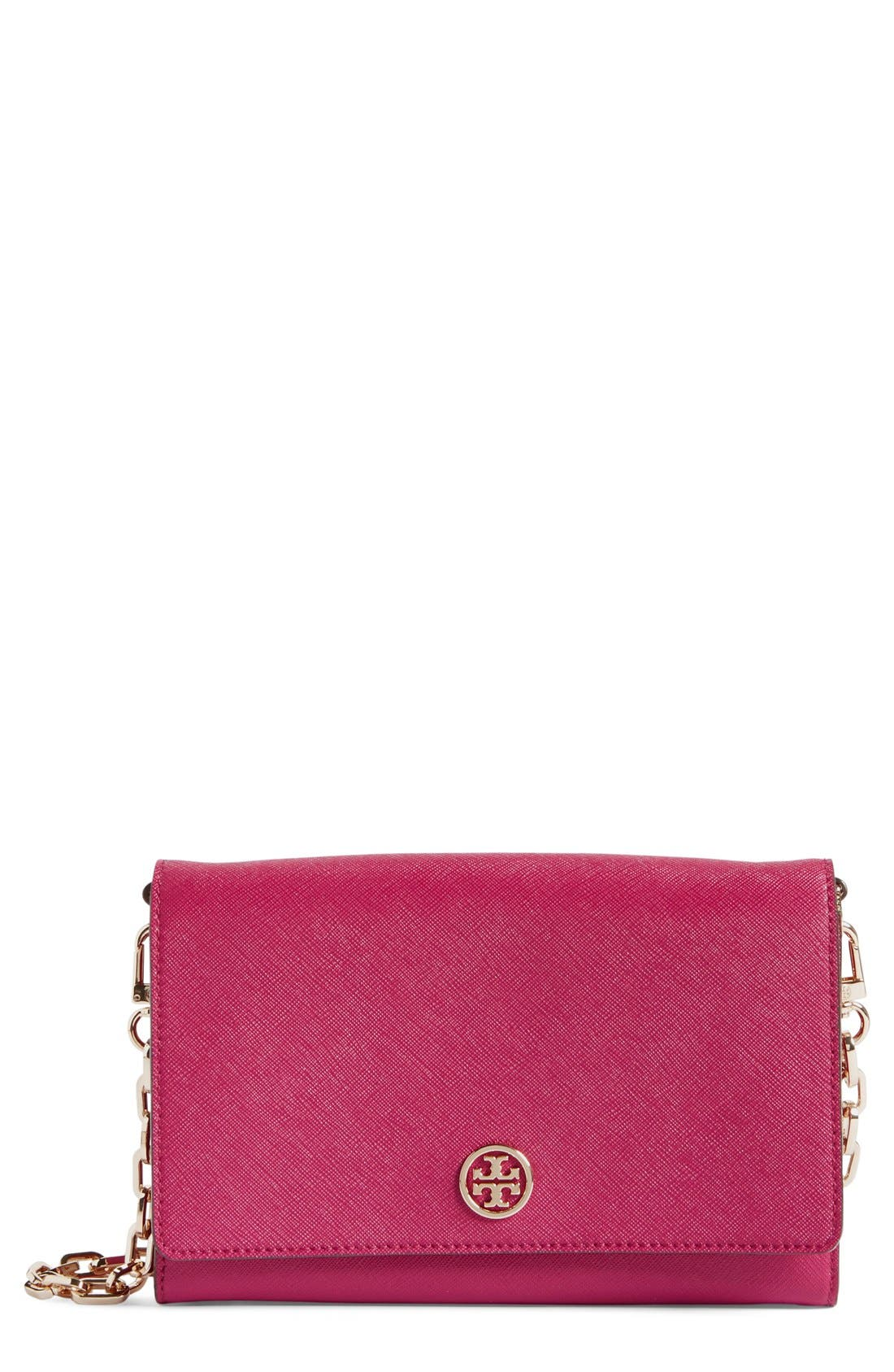 ,                             'Robinson' Leather Wallet on a Chain,                             Main thumbnail 66, color,                             651