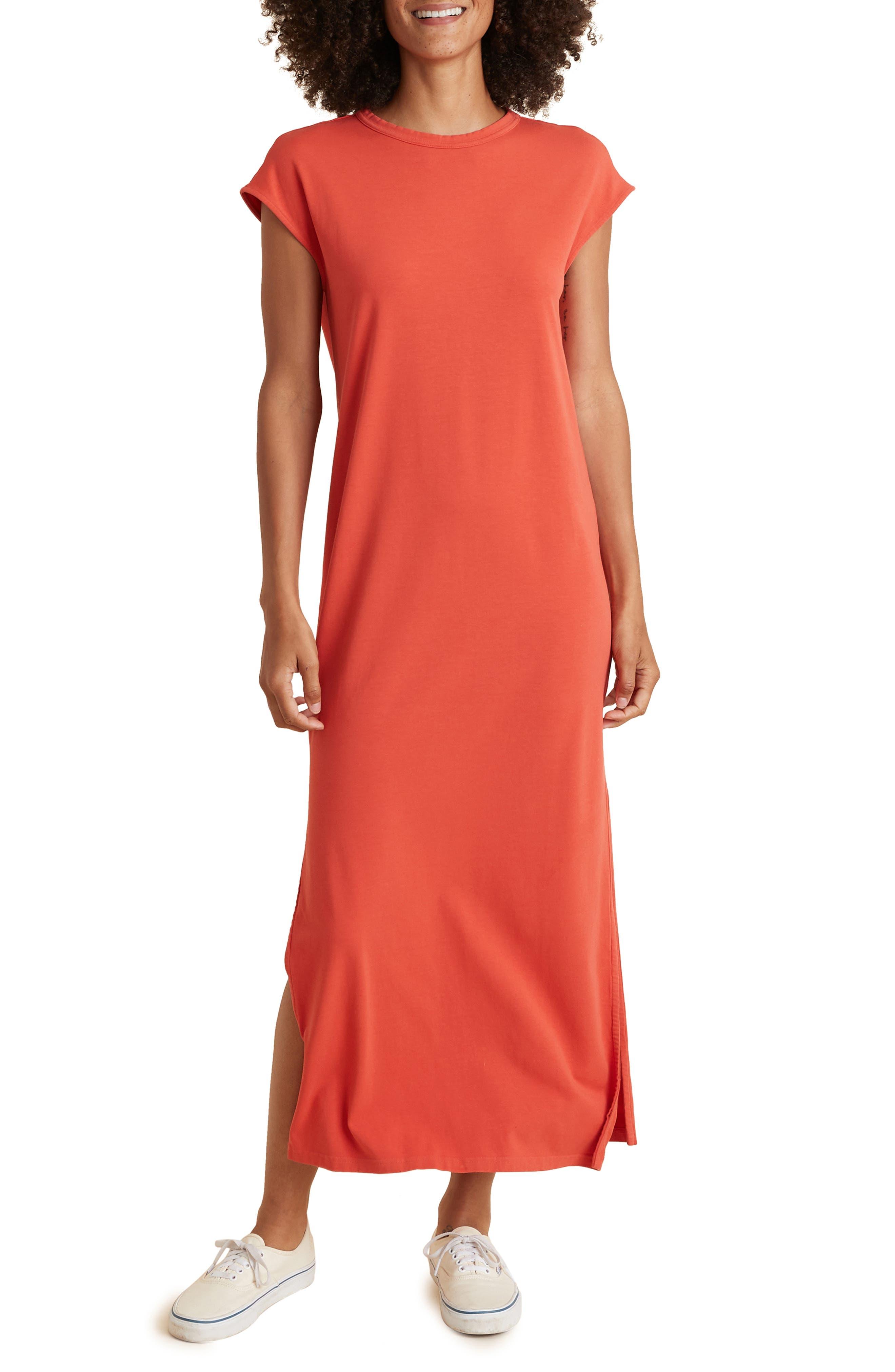 Taylor Organic Cotton & Modal Stretch Knit Maxi Dress