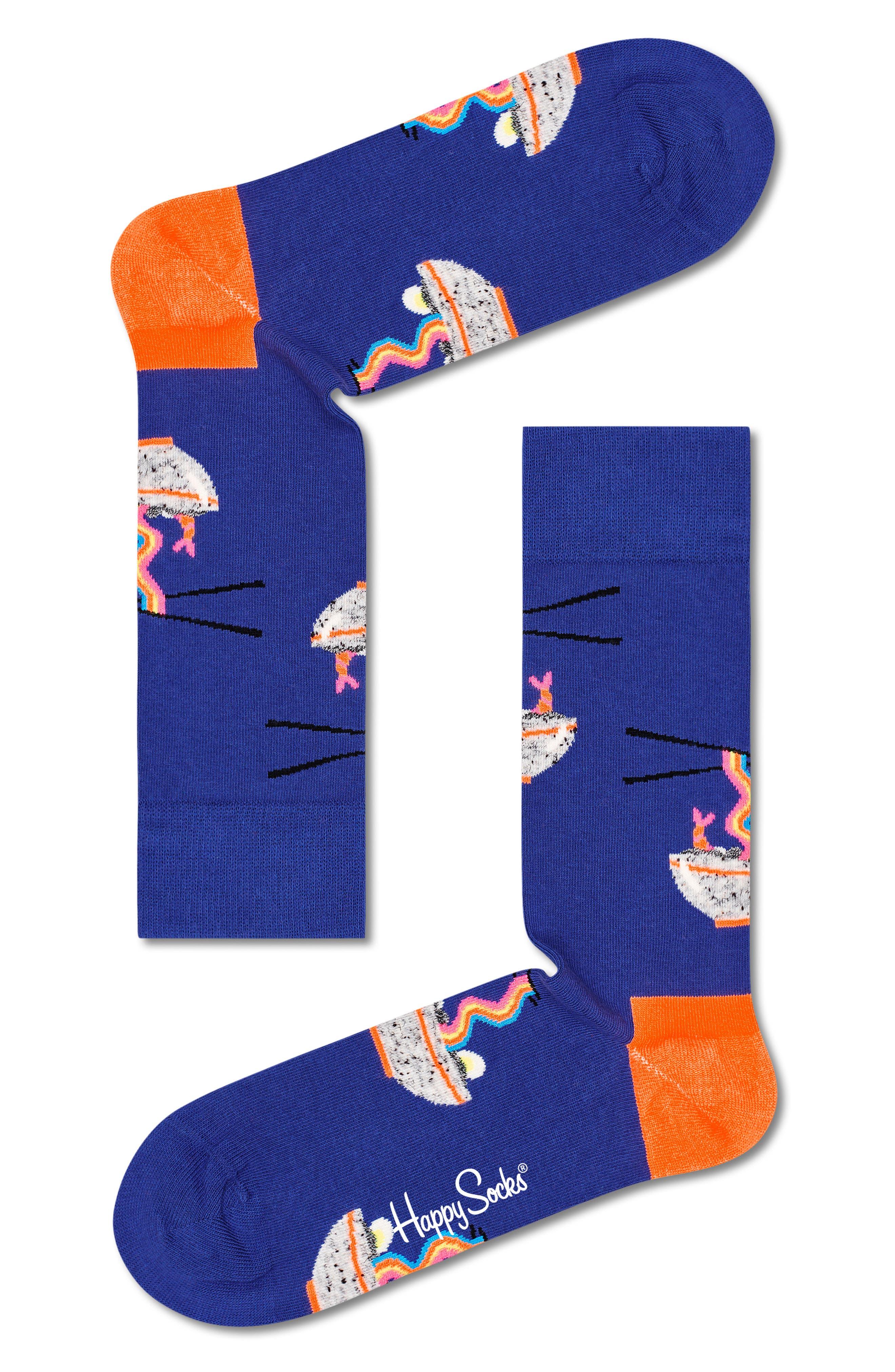 Rainbow Ramen Crew Socks