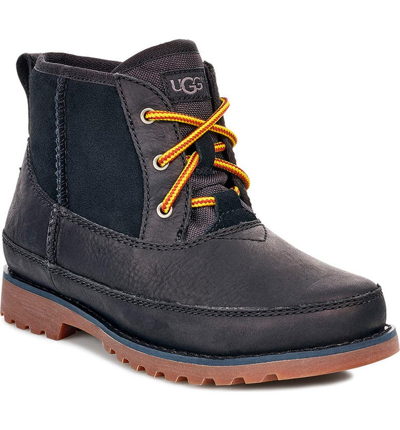 UGG<SUP>®</SUP> Bradley Waterproof Boot, Main, color, 001