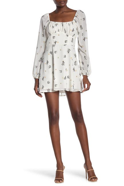 Image of ROW A Emma Floral Mini Dress