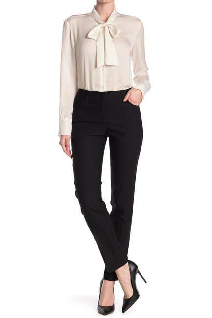 Image of NANETTE nanette lepore Fly Front Straight Trousers