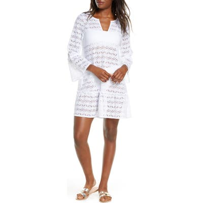 Lilly Pulitzer Payton Cover-Up Dress, White