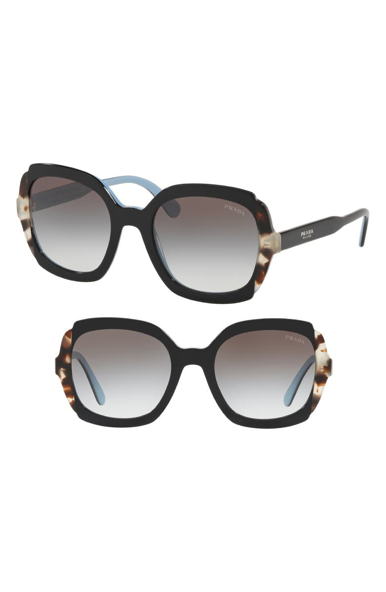 937e56c0fd83 Etiquette 54mm Square Sunglasses, Main, color, 001