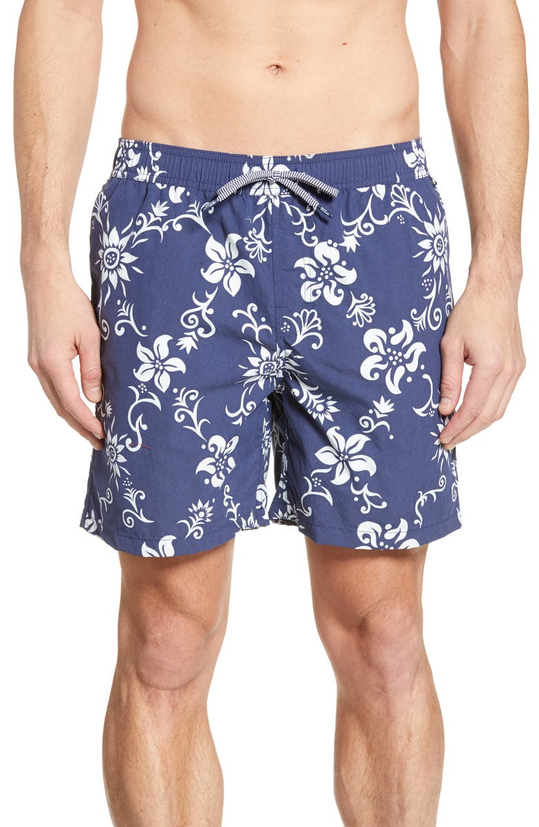 REYN SPOONER Summer Pareau Swim Trunks, Main, color, 410