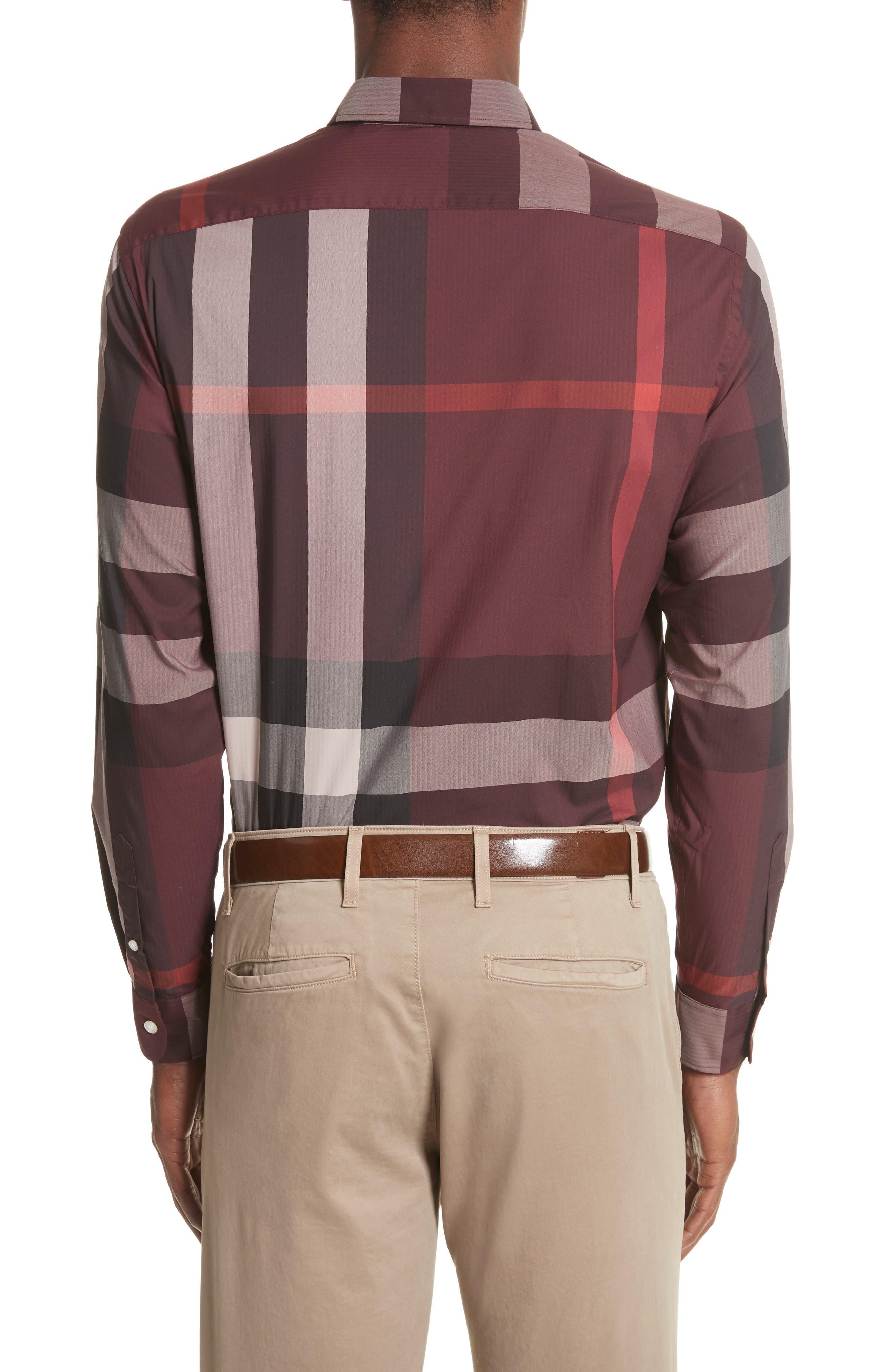 ,                             Thornaby Slim Fit Plaid Sport Shirt,                             Alternate thumbnail 57, color,                             936