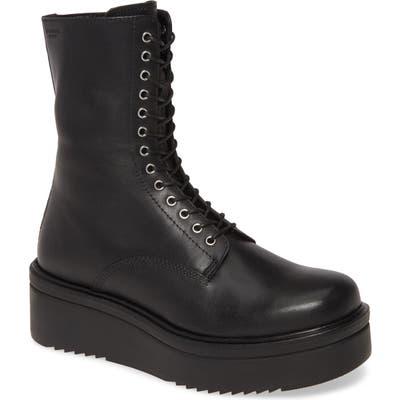 Vagabond Shoemakers Tara Lace-Up Boot, Black