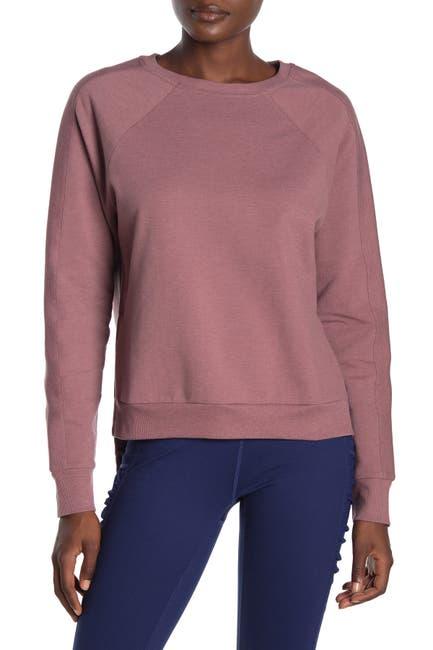 Image of Z By Zella Maisy Raglan Sleeve Pullover Sweater