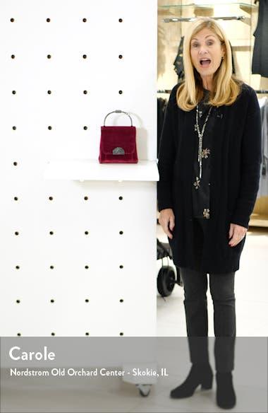 Olivia Velvet Crossbody Bag, sales video thumbnail
