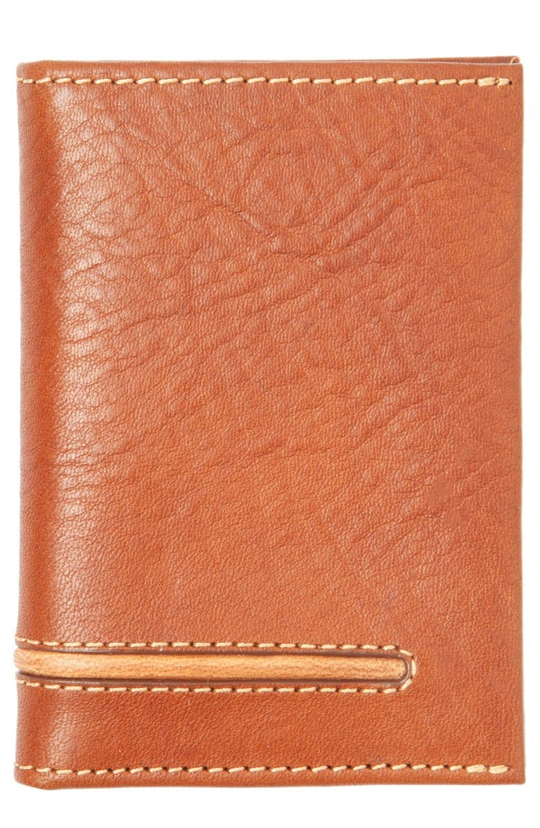 TOMMY BAHAMA Leather Money Clip Card Case, Main, color, 200