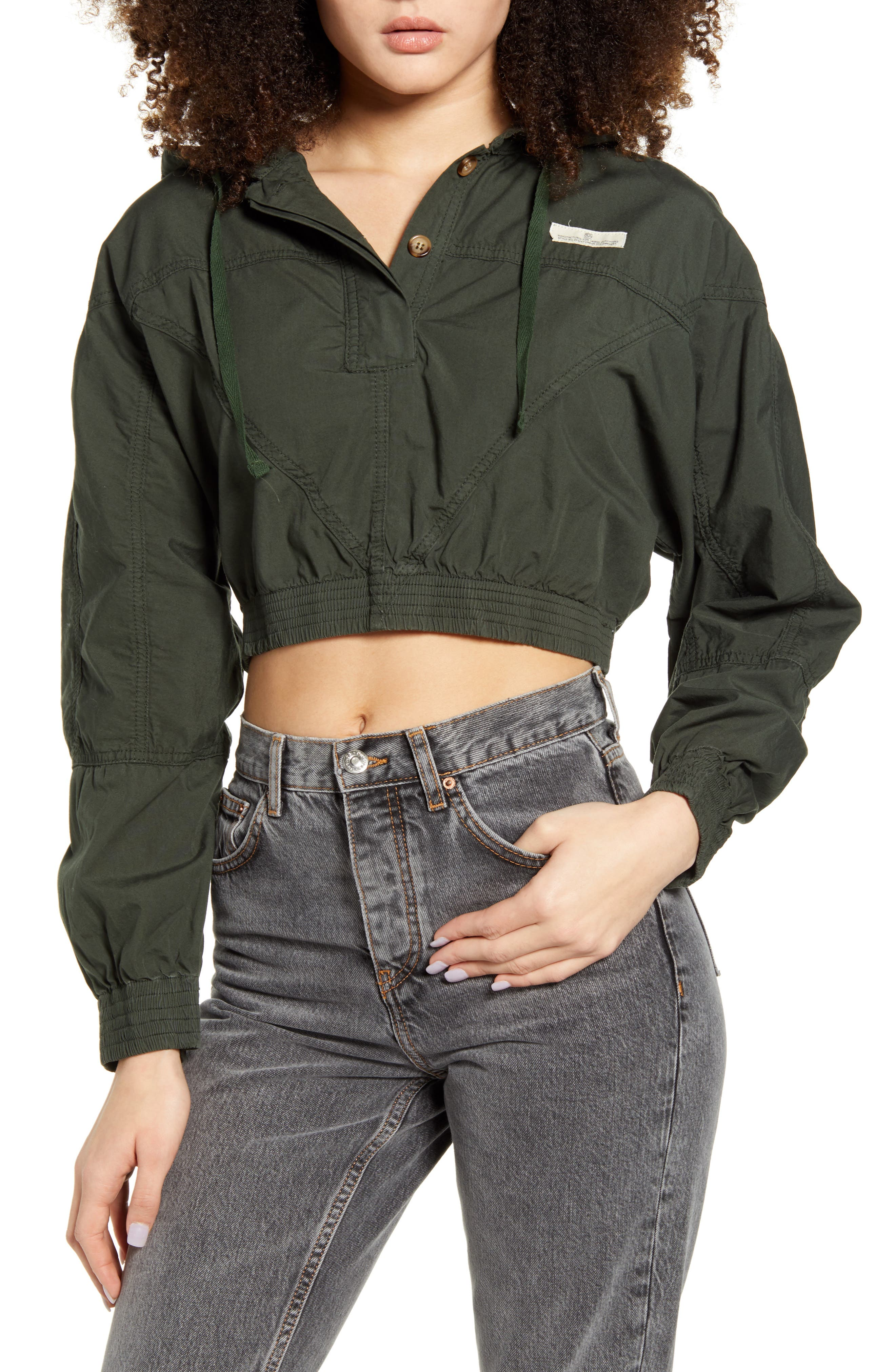 BDG Urban Outfitters Crop Poplin Jacket | Nordstrom