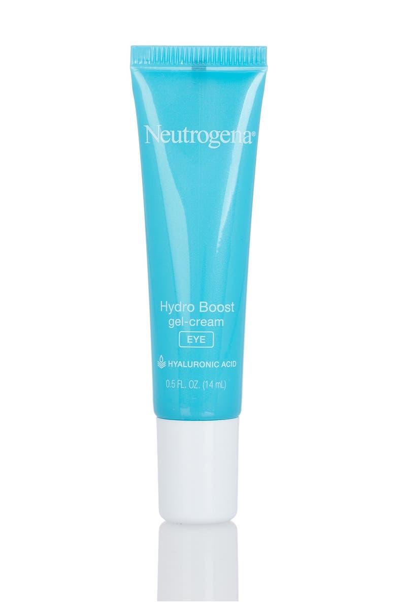 NEUTROGENA Hydro-Boost Gel Eye Cream, Main, color, NO COLOR