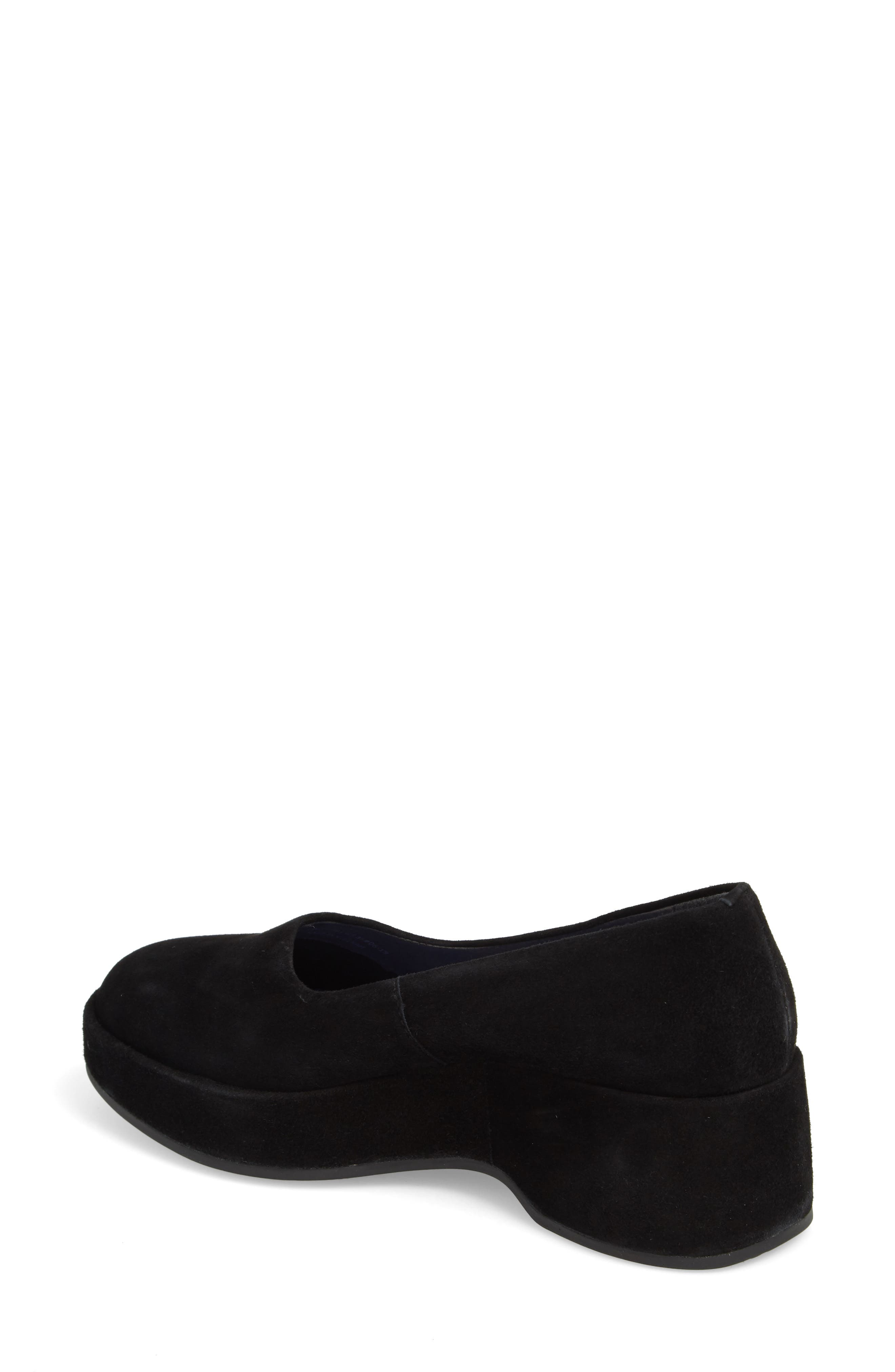 ,                             Sisea Platform Shoe,                             Alternate thumbnail 2, color,                             BLACK LEATHER