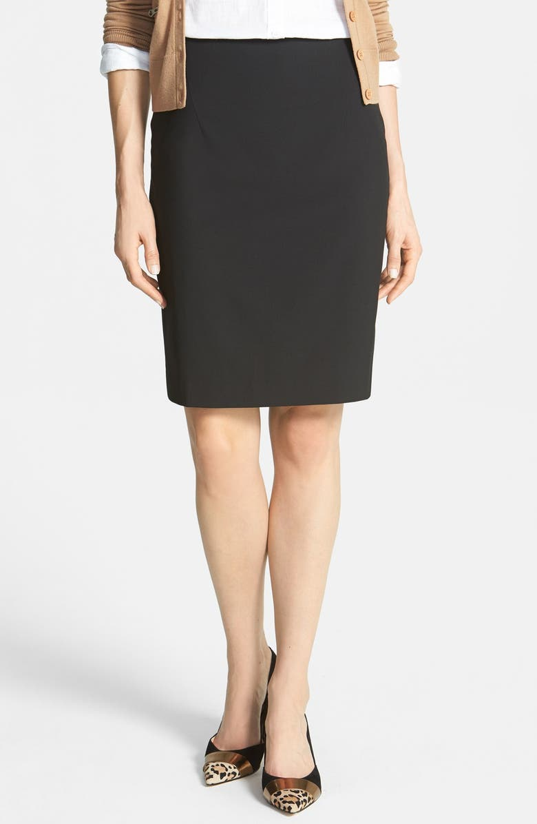 HALOGEN<SUP>®</SUP> Pencil Skirt, Main, color, 001