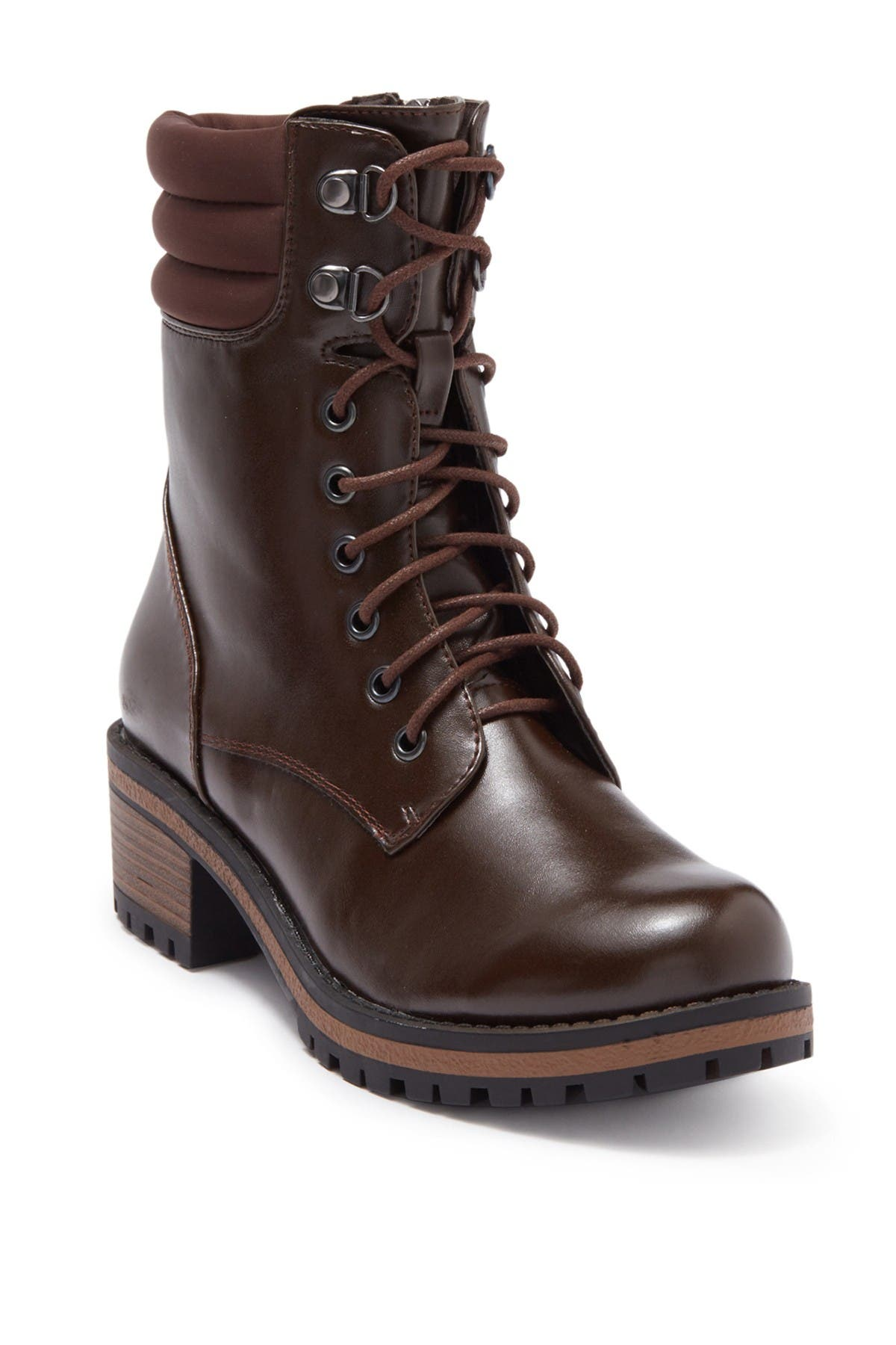 Image of Wanted Oregon Quilted Lace-Up Boot