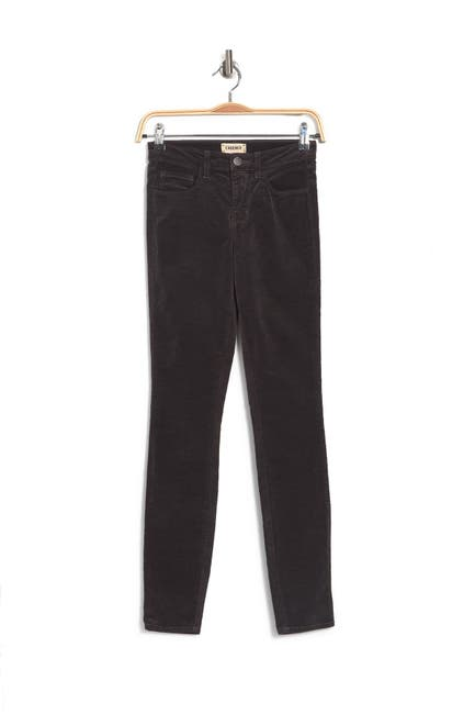 Image of L'AGENCE Margo High Rise Crop Skinny Jeans