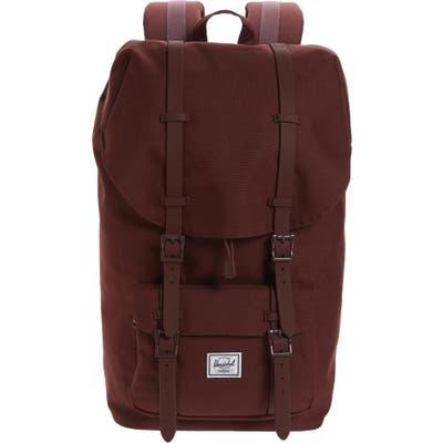 Herschel Supply Co. Purple Little America Backpack - Purple
