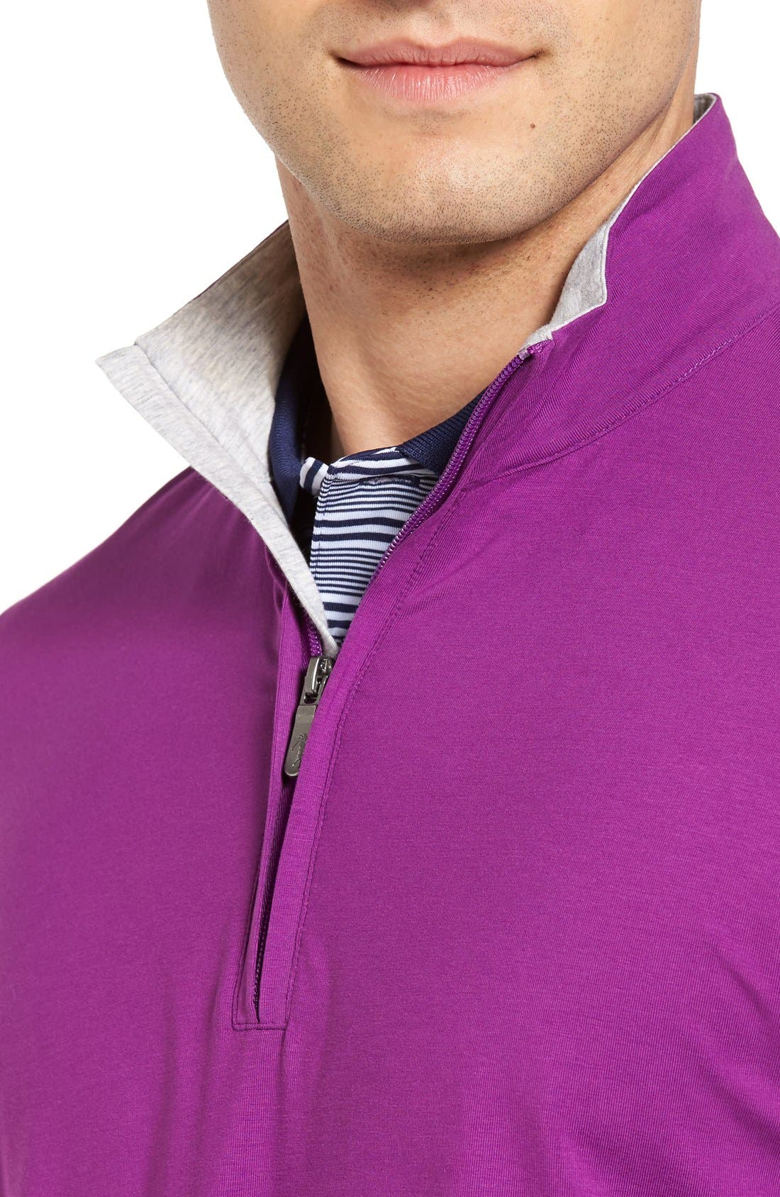 ,                             PTO Liquid Stretch Quarter Zip Pullover,                             Alternate thumbnail 48, color,                             530