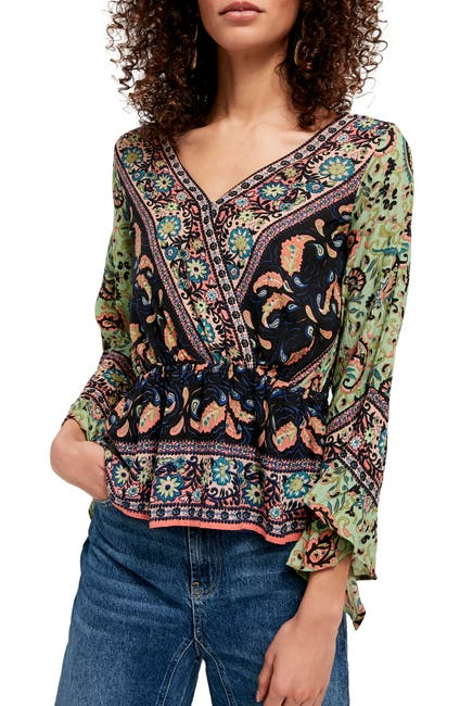 Image of Free People Rosalie Wrap Top