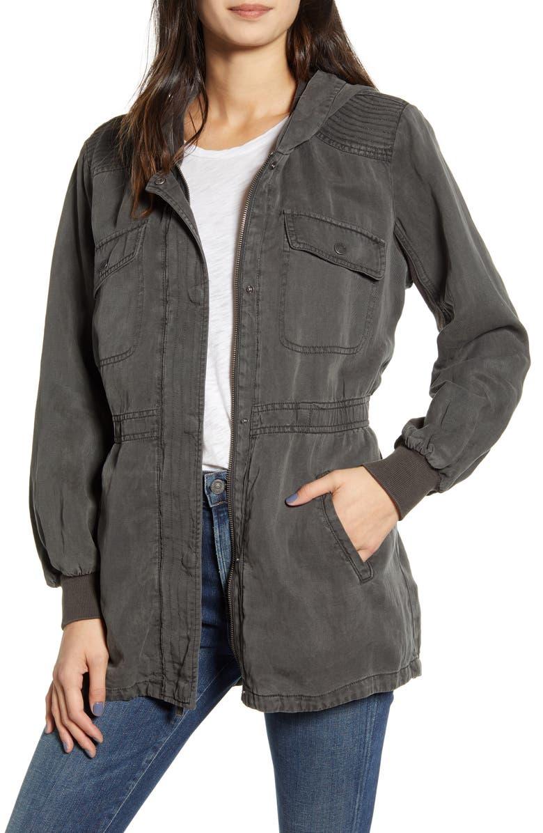 SPLENDID Alton Twill Jacket, Main, color, LEAD