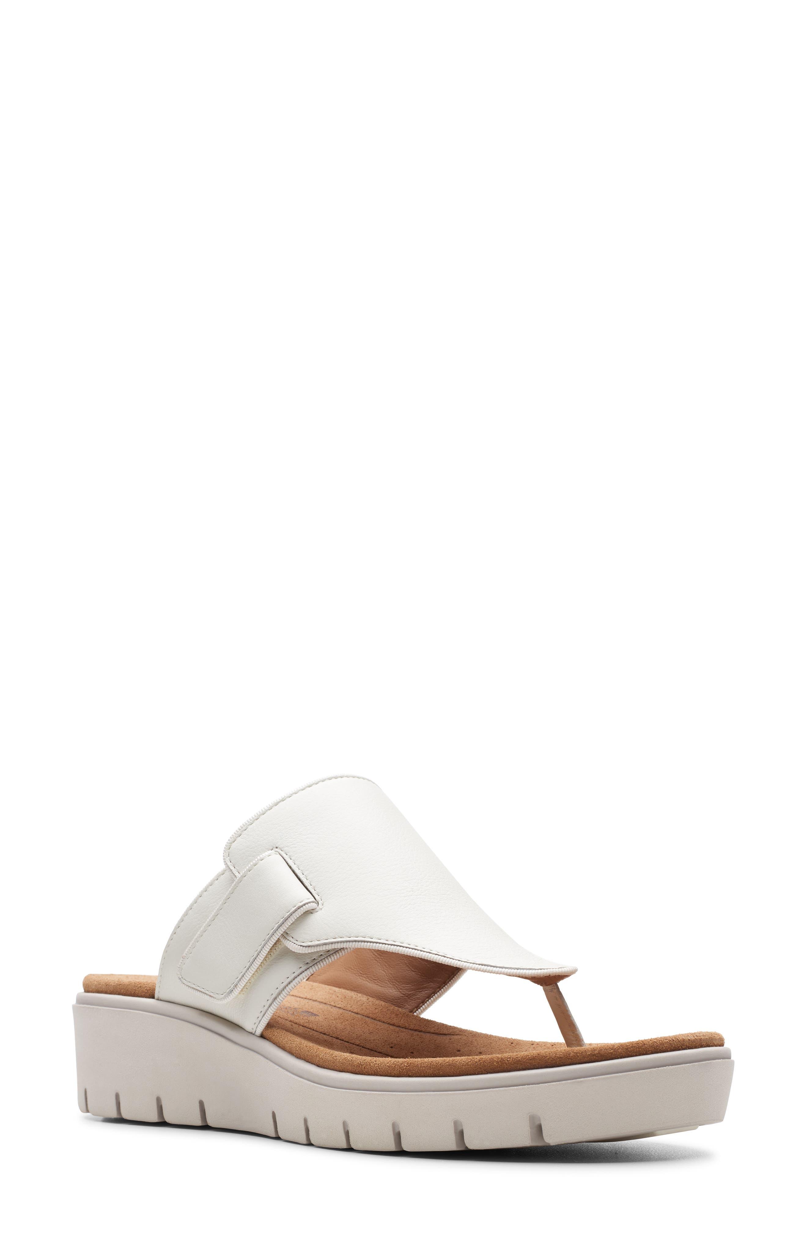 Clarks® Un Karely Sea Slide Sandal (Women)