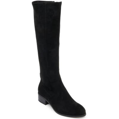 Splendid Patch Knee High Boot, Black