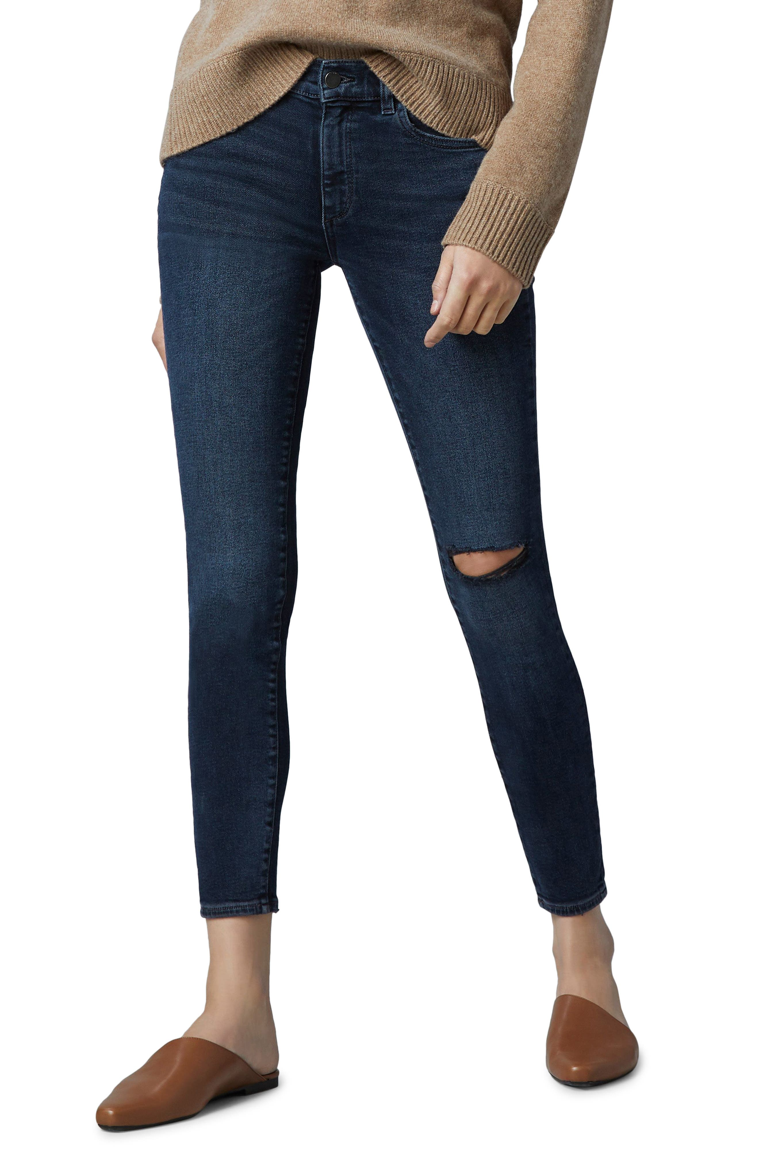 1961 Florence Instasculpt Mid Rise Ankle Skinny Jeans