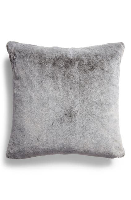 Image of Nordstrom Tipped Mink Faux Fur Pillow