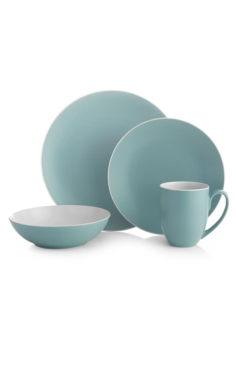 NAMBÉ POP 4-Piece Place Setting, Main, color, OCEAN