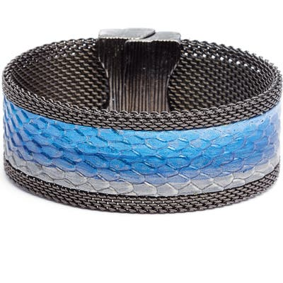 Cynthia Desser Ombre Washed Leather Bracelet