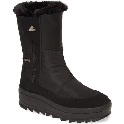 Pajar Tanni 2.0 Waterproof Boot With Faux Fur Lining, Black