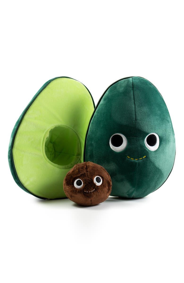 KIDROBOT Yummy World Eva the Avocado Plush Toy, Main, color, 300