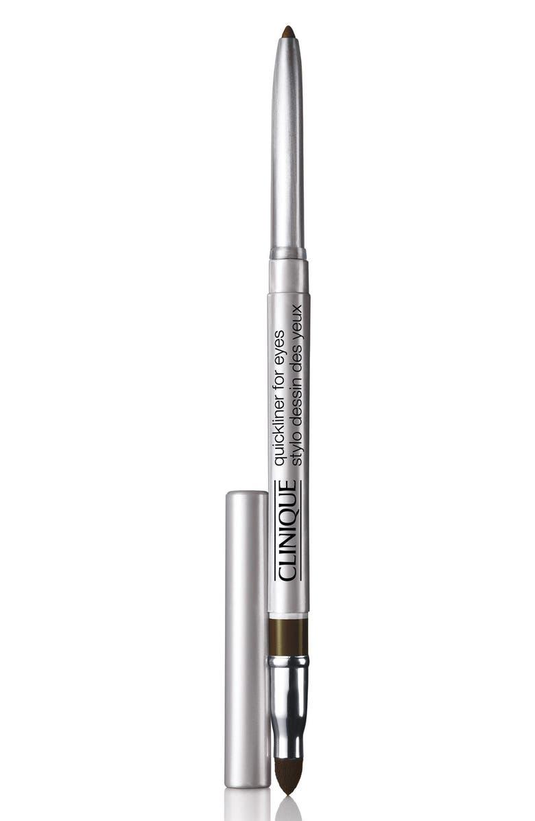 CLINIQUE Quickliner for Eyes Eyeliner Pencil, Main, color, ROAST COFFEE