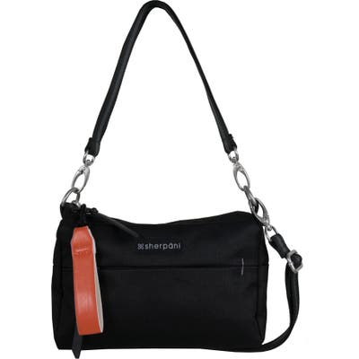 Sherpani Mini Skye Convertible Crossbody Bag - Black