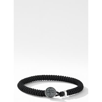 David Yurman Woven Cross Bracelet