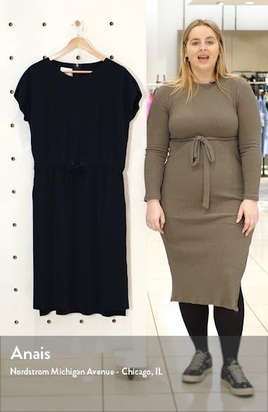 Short Sleeve Blouson Dress, sales video thumbnail