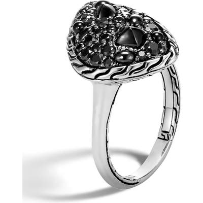 John Hardy Classic Chain Small Stone Ring