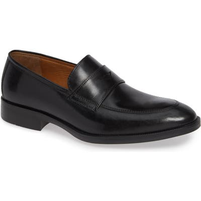 Johnston & Murphy Alcott Penny Loafer, Black