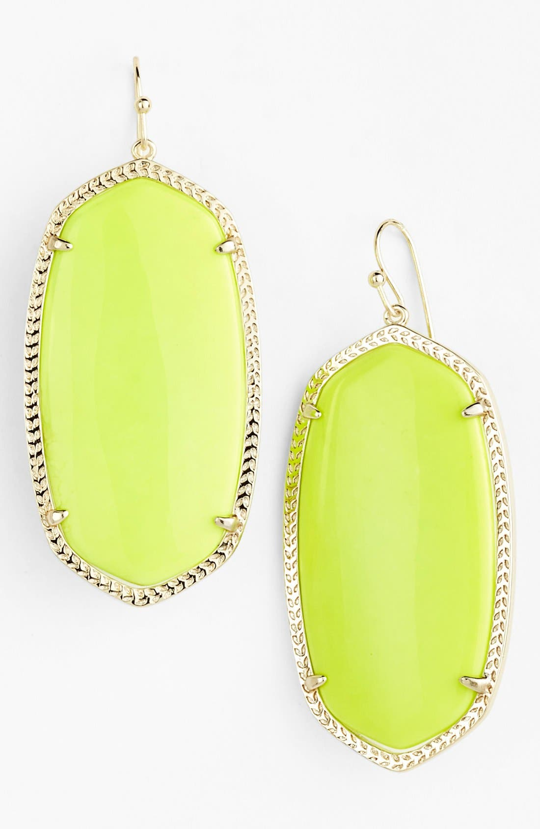 ,                             'Danielle' Oval Statement Earrings,                             Main thumbnail 65, color,                             735