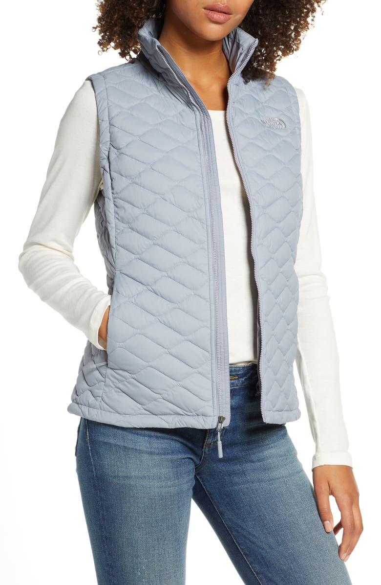 THE NORTH FACE ThermoBall<sup>™</sup> PrimaLoft<sup>®</sup> Vest, Main, color, MID GREY
