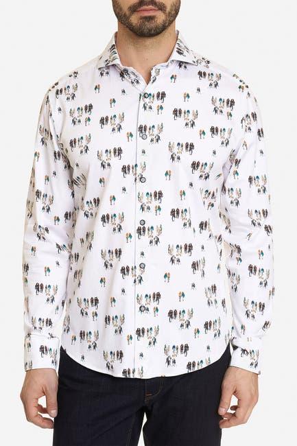 Image of Robert Graham Gallery Nights Long Sleeve Shirt