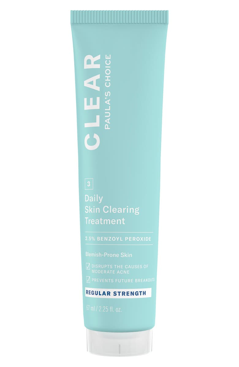 PAULA'S CHOICE Clear Regular Strength Daily Skin Clearing Treatment, Main, color, NO COLOR