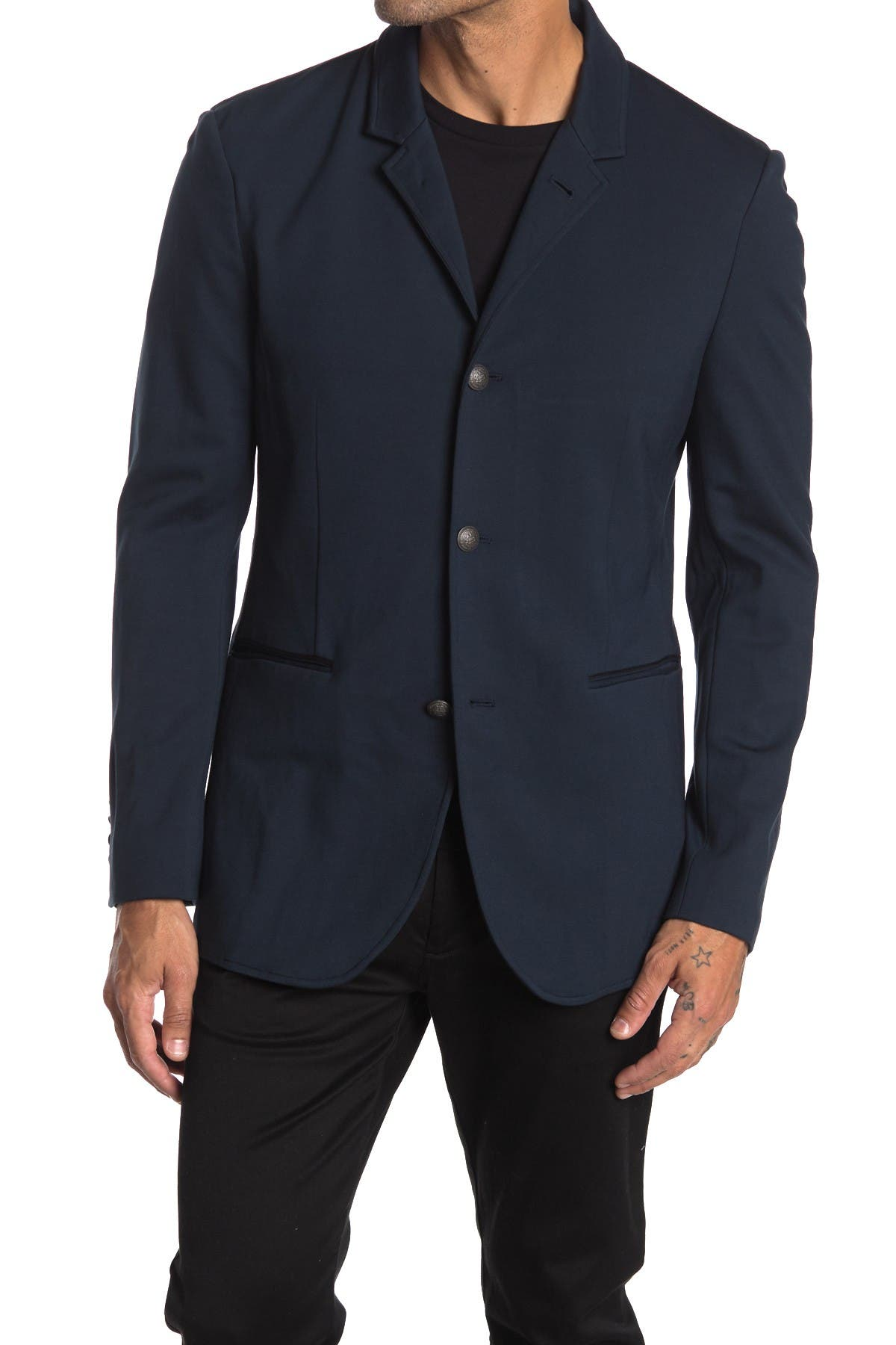 Image of John Varvatos Collection Wills 2-4 Button Soft Jacket