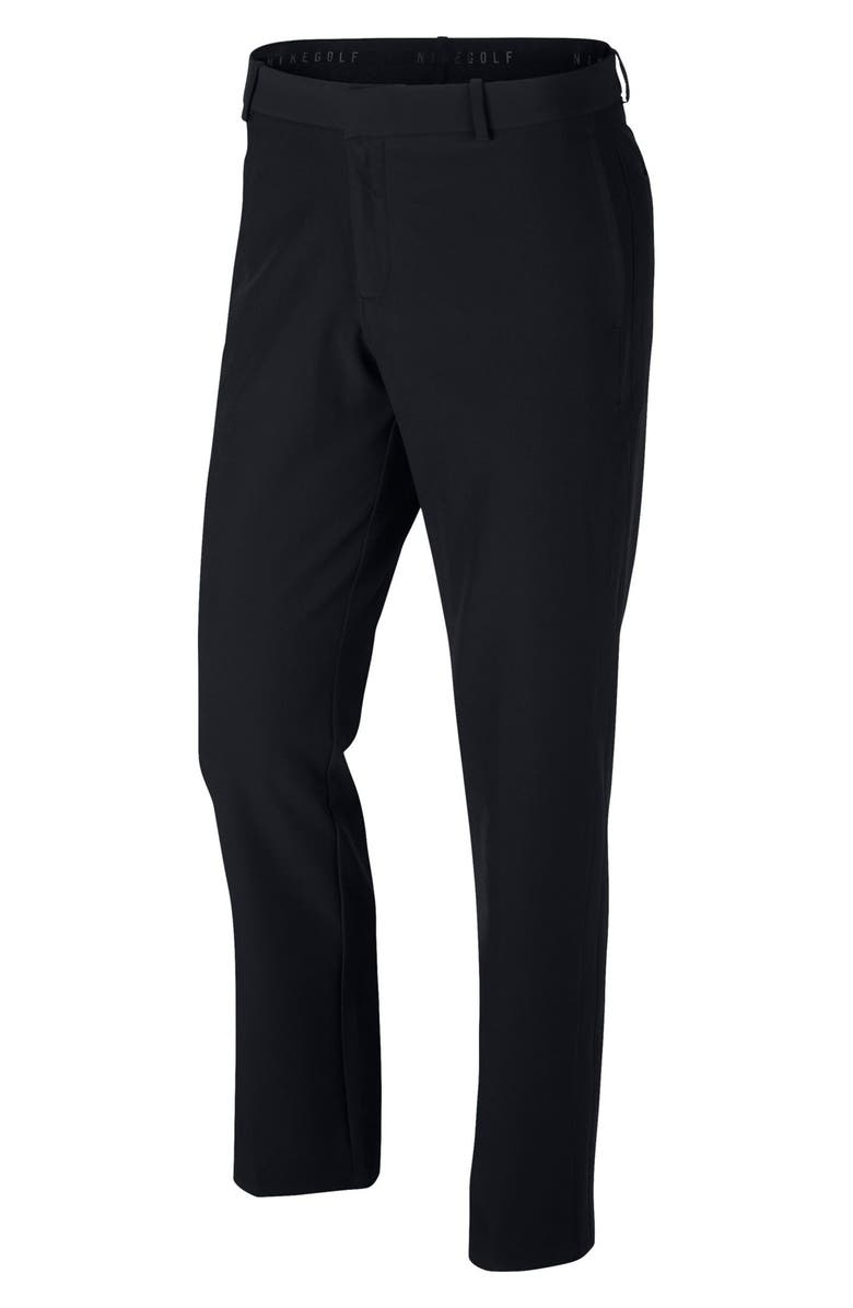 NIKE Flex Slim Fit Hybrid Golf Pants, Main, color, 010