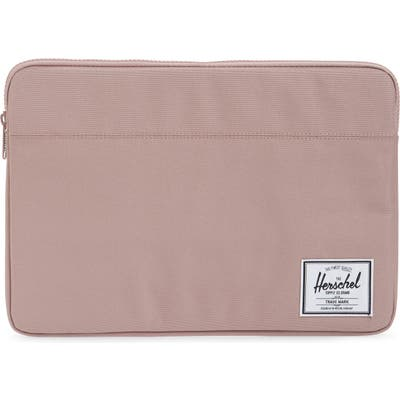 Herschel Supply Co. Anchor 15-Inch Macbook Sleeve - Pink
