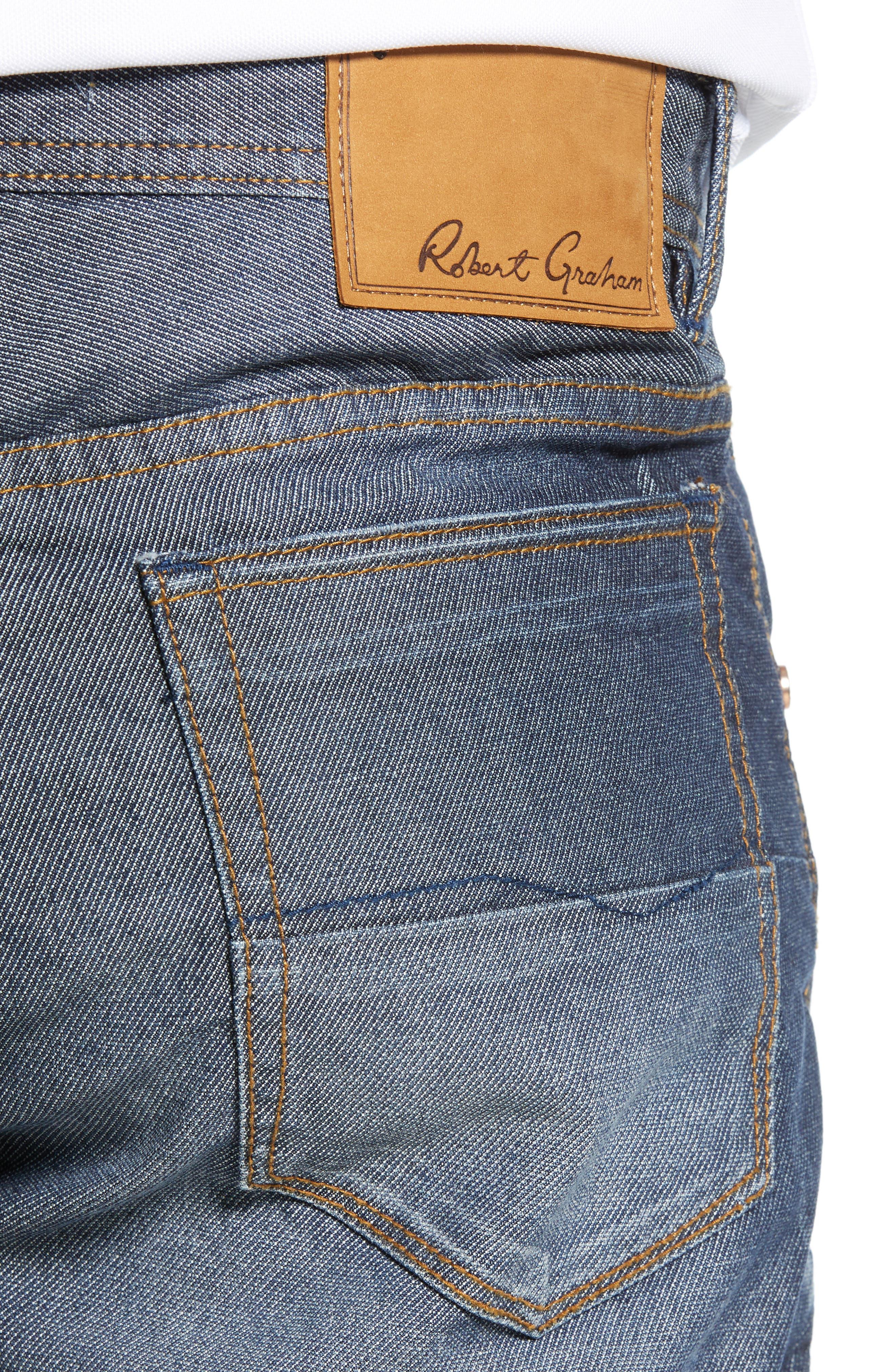 ,                             Loder Regular Fit Jeans,                             Alternate thumbnail 5, color,                             INDIGO