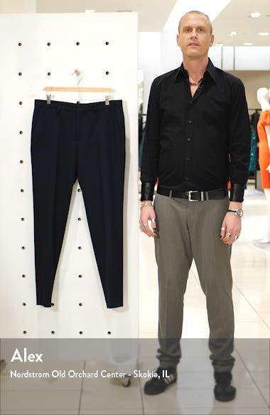 Gains Flat Front Slim Fit Solid Dress Pants, sales video thumbnail